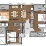 The Park Nine Suvarnabhumi : 2 Bedroom Suite Room